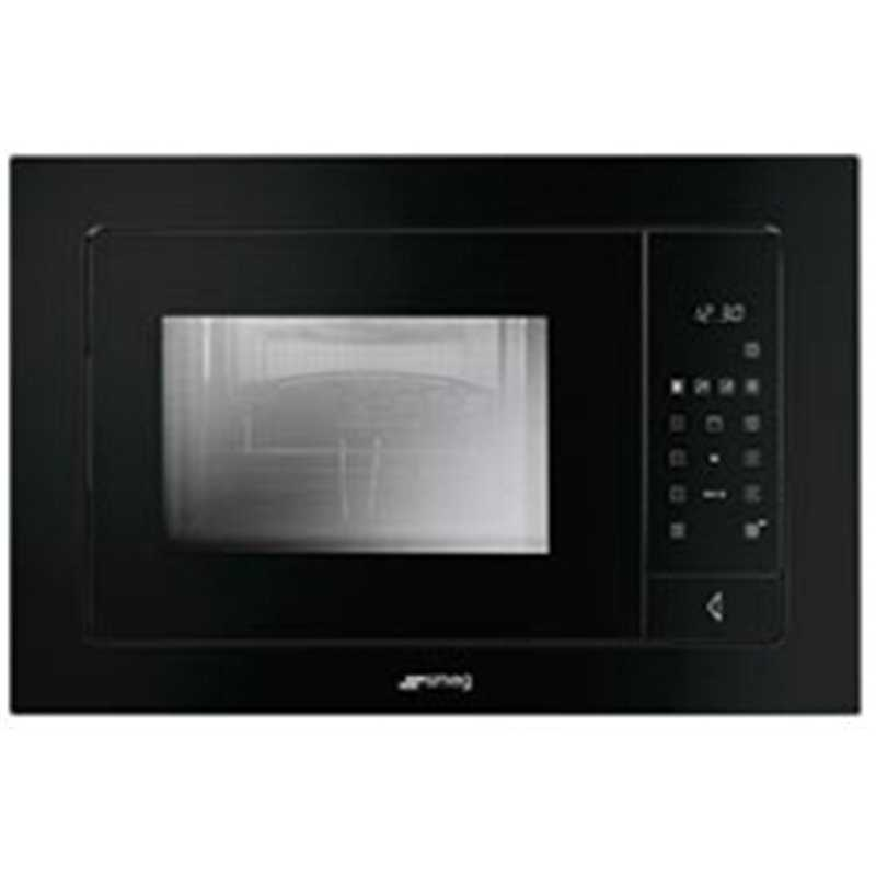 Smeg 850w Microwave Oven With Electric Grill 5 Power Levels