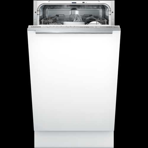 Grundig 45cm Slimline dishwasher with A++ energy rating