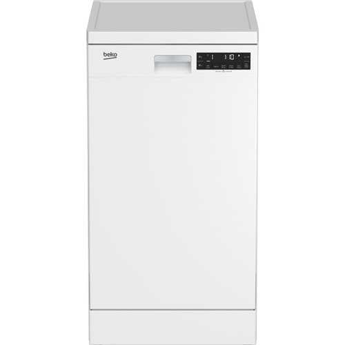 Beko Fully featured slimline premium dishwasher with LCD control display