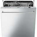 Smeg 60cm Integrated dishwasher - stainless steel door