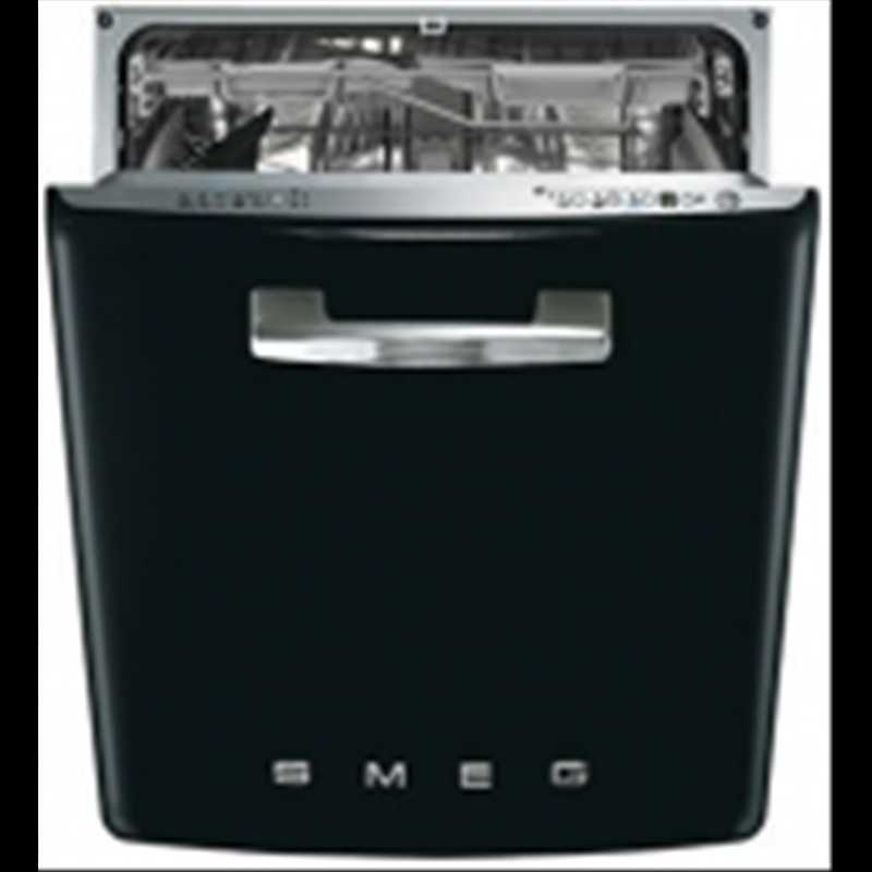 Smeg Built-in 50's style retro integrated dishwasher
