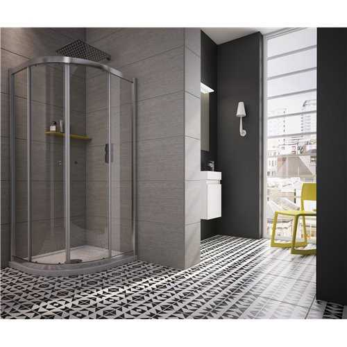 Rio Twin Sliding Door Quadrant Shower Enclosure - Bretton Park