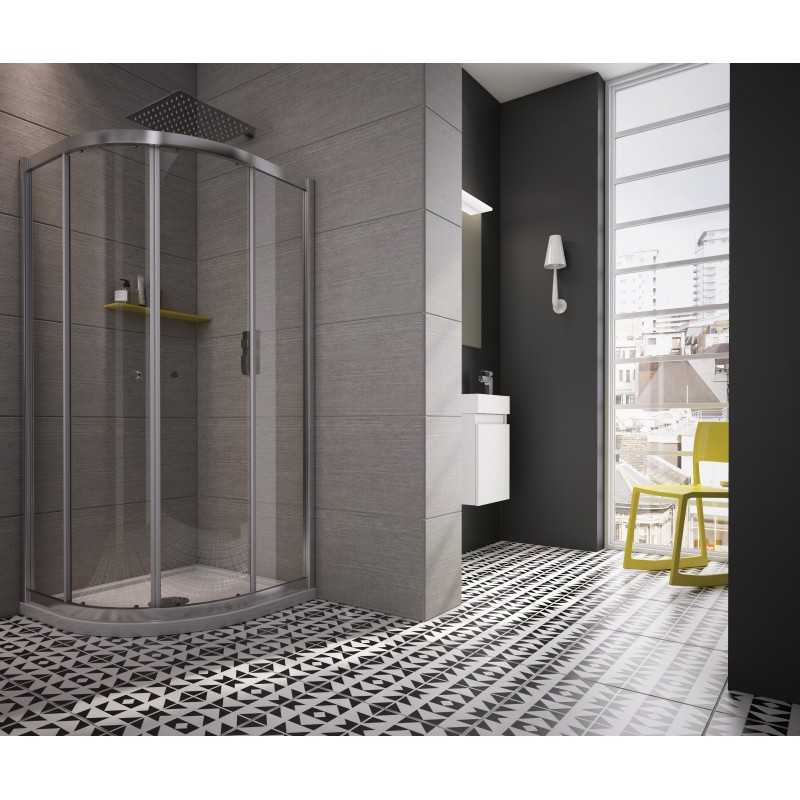 Rio Twin Sliding Door Quadrant Shower Enclosure