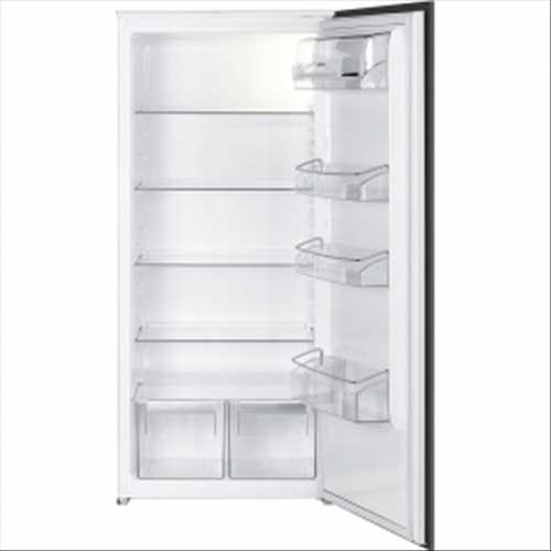 Smeg In-column Integrated single door larder fridge (1220mm high)