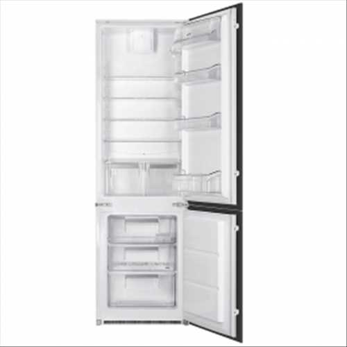 Smeg In-column integrated 60/40 fridge freezer