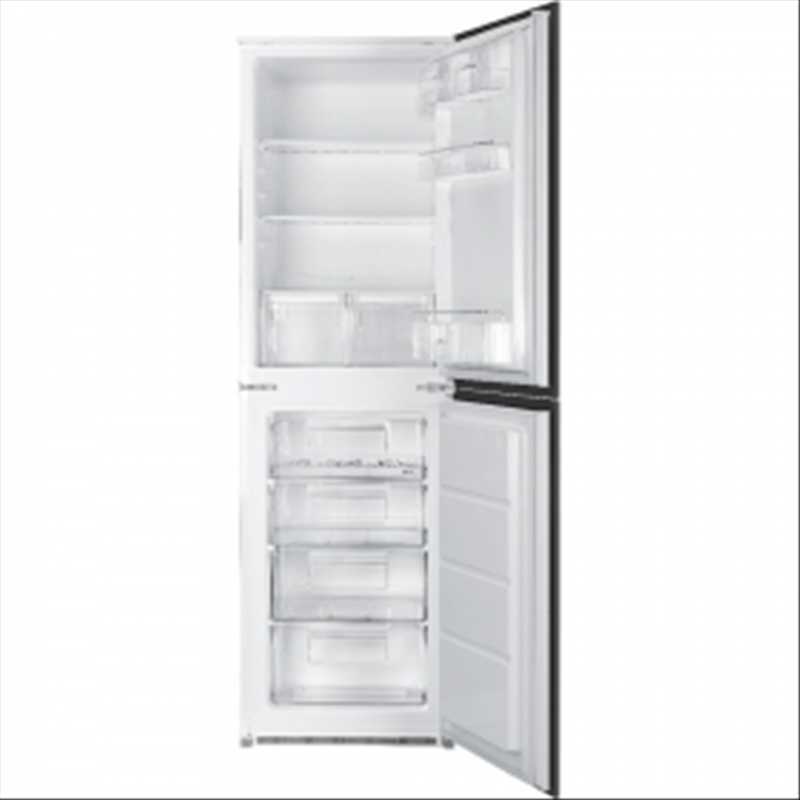 Smeg In-column integrated 50/50 fridge freezer