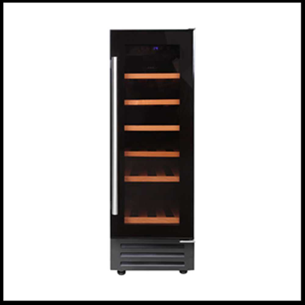 Newworld 300mm Stainless Steel Amp Black Built In Wine Cooler
