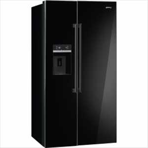 Smeg American side-by-side fridge freezer