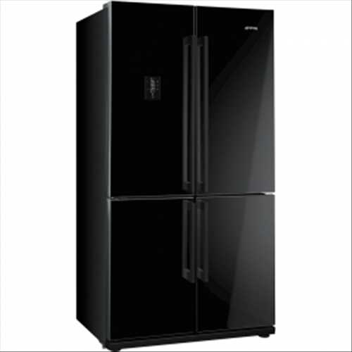 Smeg 4 Door refrigerator/ freezer with 77 ltr convertible compartment