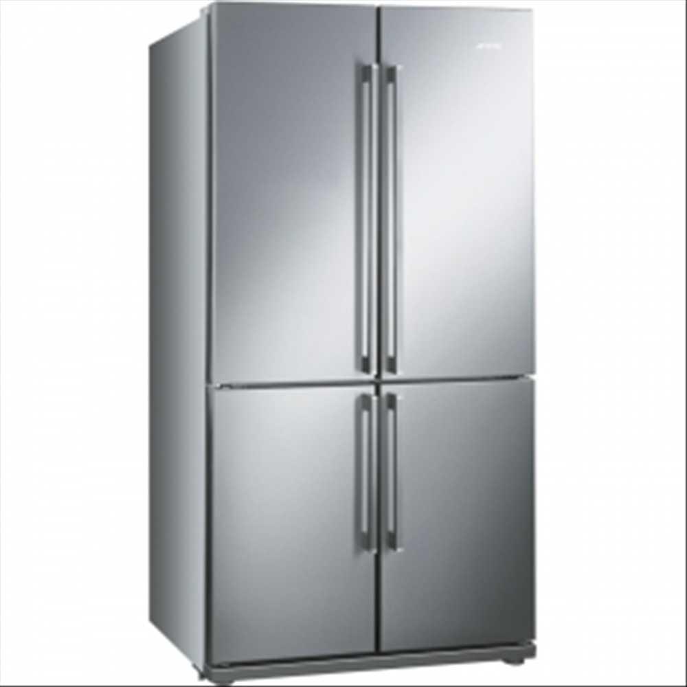 Smeg 4 Door Refrigerator Freezer Convertible Compartment