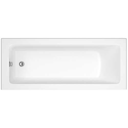 Lynton Square Single Ended Acrylic Bath (No Tap Holes) - Bretton Park