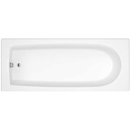 Lavenham Straight square single ended acrylic bath (no tap holes)