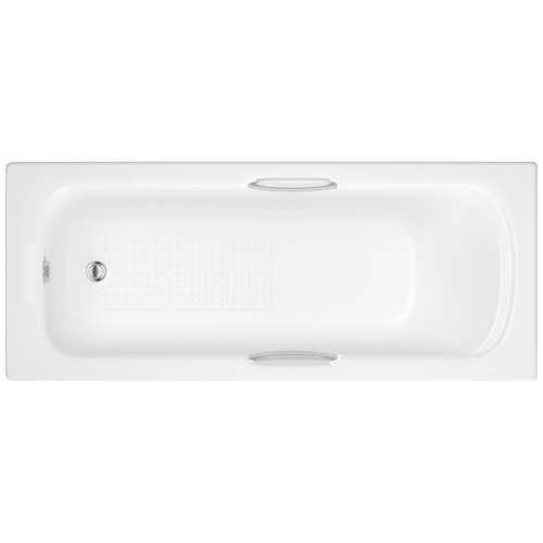 Northam Eco 5mm acrylic bath with twin grips (no tap holes)