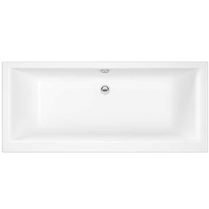 Kitchen Fittings Direct Voucher Code: Foxham Square Double Ended Acrylic Bath (No Tap Holes