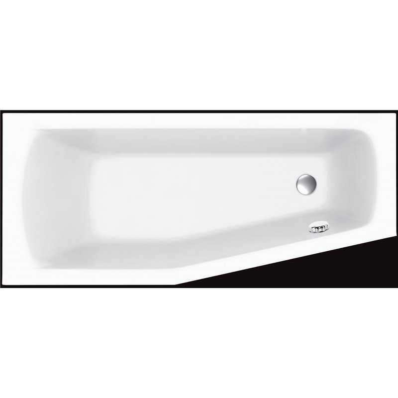 Smart Super strong acrylic space saver bath