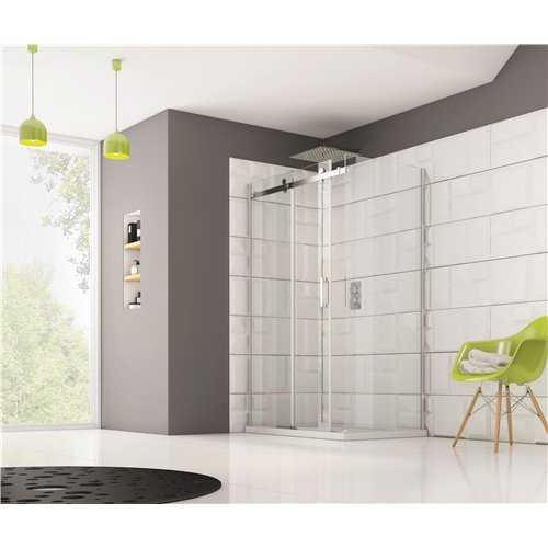 Naples Frameless Sliding Door Shower Enclosures - Bretton Park