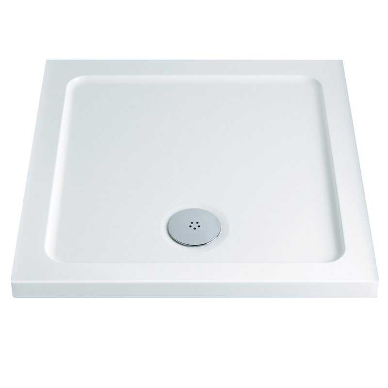 Low Profile Square Shower Trays 40mm
