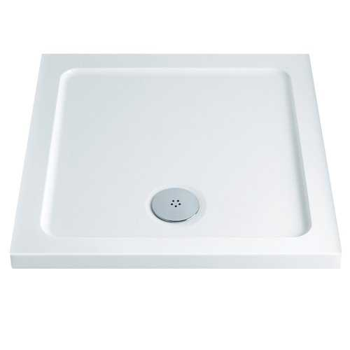 Low Profile Square Shower Trays 130mm - Bretton Park