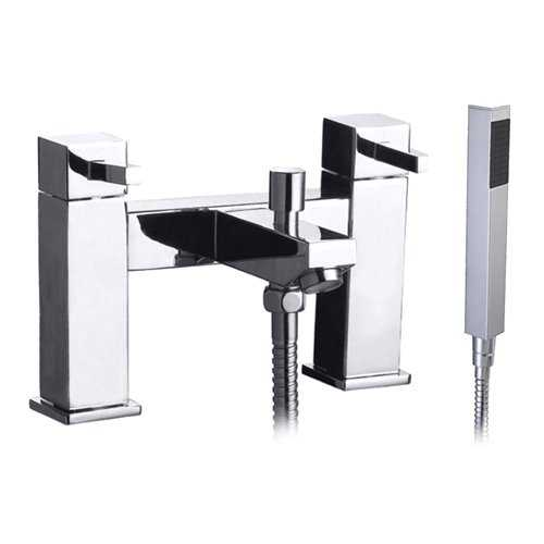 Bretton Park - Black Bath Shower Mixer