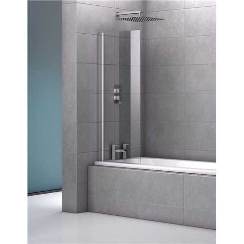 Genoa Single Frameless Bath Screen - Bretton Park