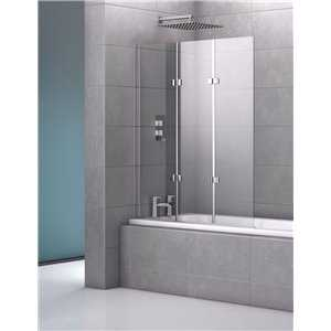Bretton Park - Genoa Triple Frameless Bath Screen