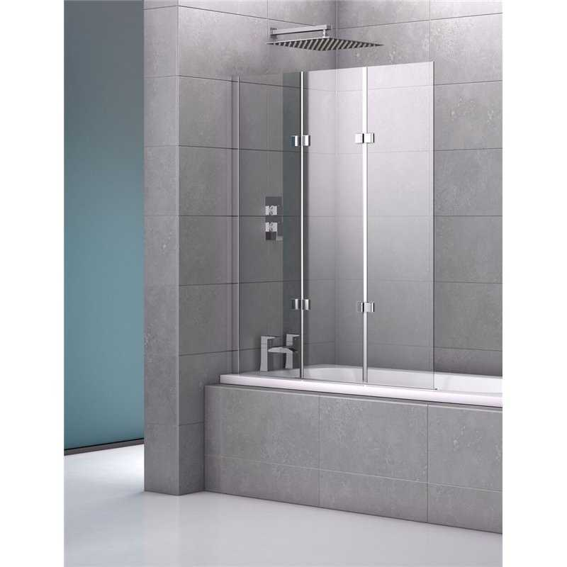 Bretton Park - Genoa Triple Frameless Bath Screen