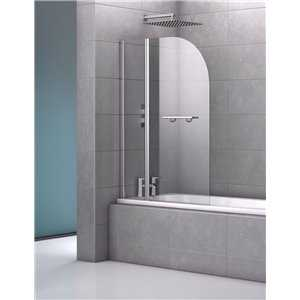 Bretton Park - Modus Double Curved With Rail Bath Screen