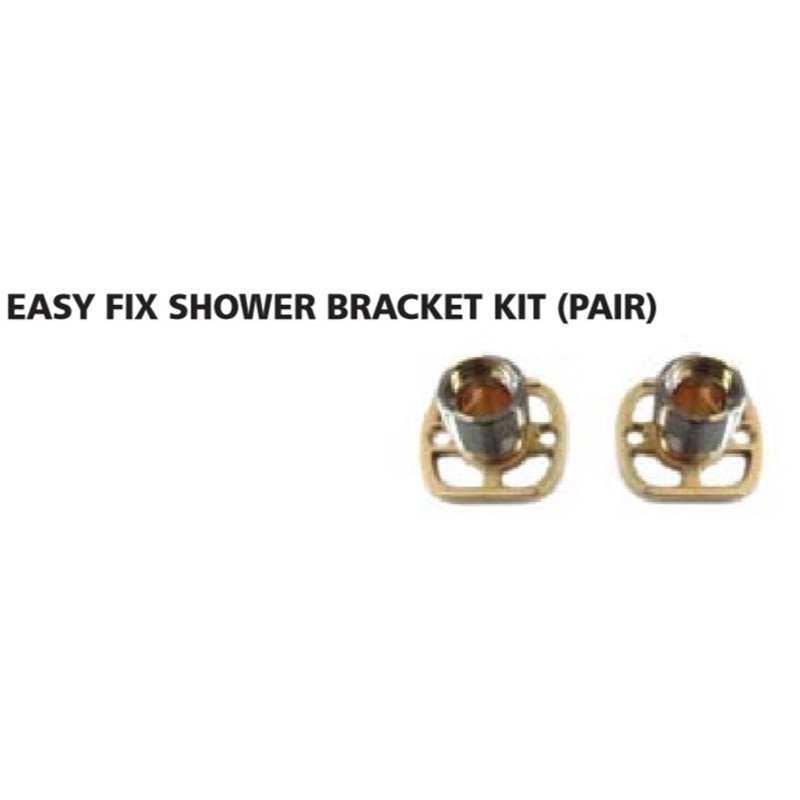 Bretton Park Easy Fix Shower Bracket Kit (Pair)