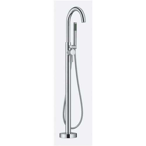 Trajan Floorstanding Bath Shower Mixer - Bretton Park