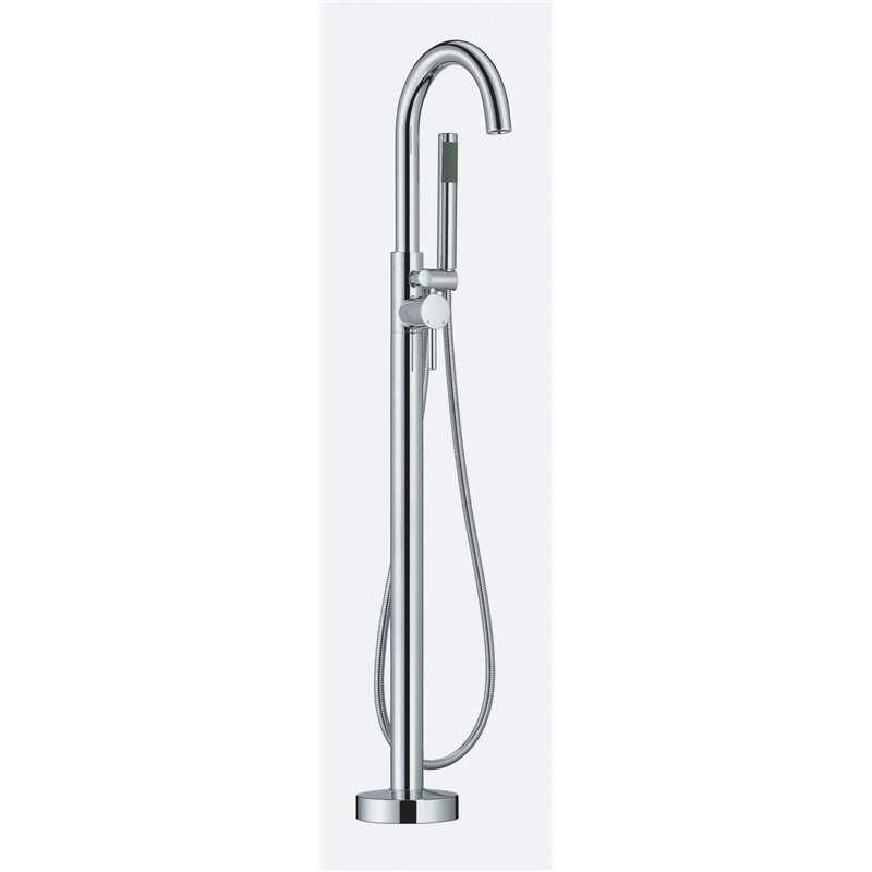 Bretton Park Trajan floorstanding bath shower mixer