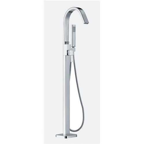 Flusso Floorstanding Bath Shower Mixer - Bretton Park