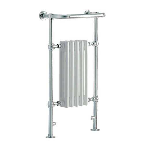 Hilton Small Heated Towel Rail - Bretton Park