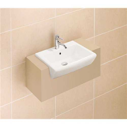 Artemis Semi-Recessed Basin - Bretton Park