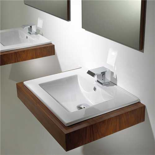 Clio Inset Counter Top Basin - Bretton Park