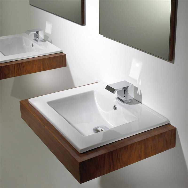Bretton Park Clio inset counter top basin