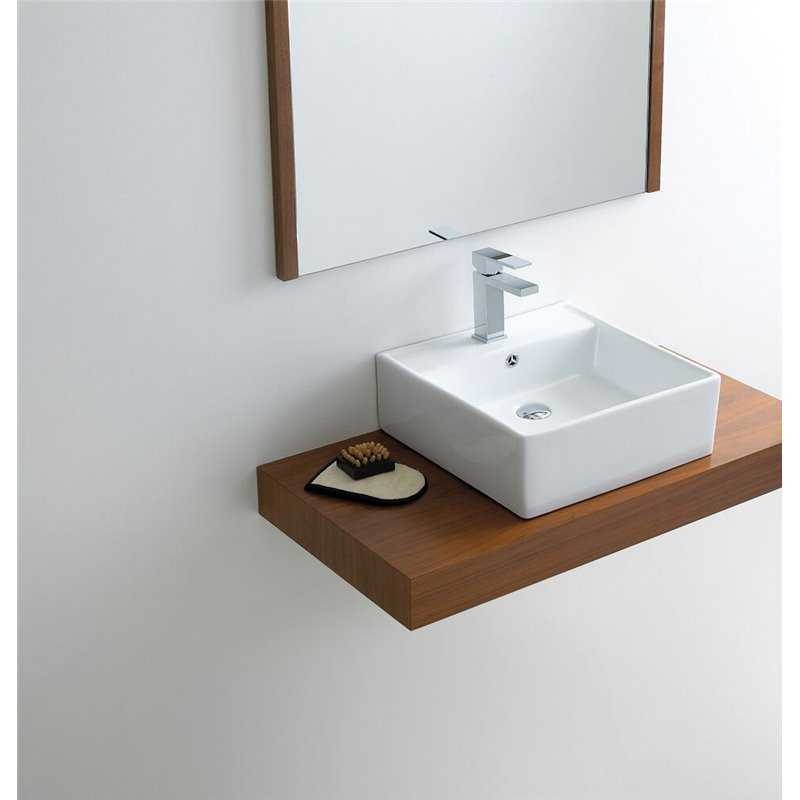 Kitchen Fittings Direct Voucher Code: Metis Square Sit On Basin
