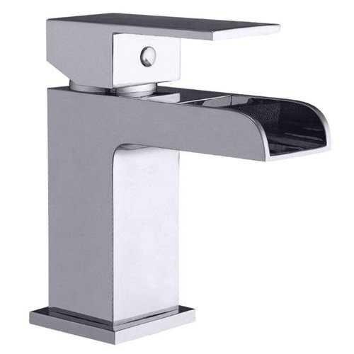 Ocean Waterfall Basin Mixer - Bretton Park