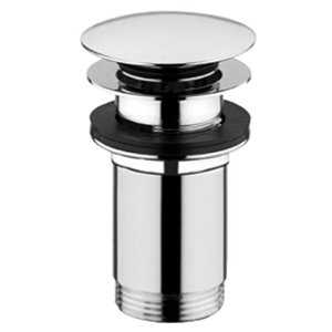 Abode Basin Clicker Waste - Unslotted in Chrome