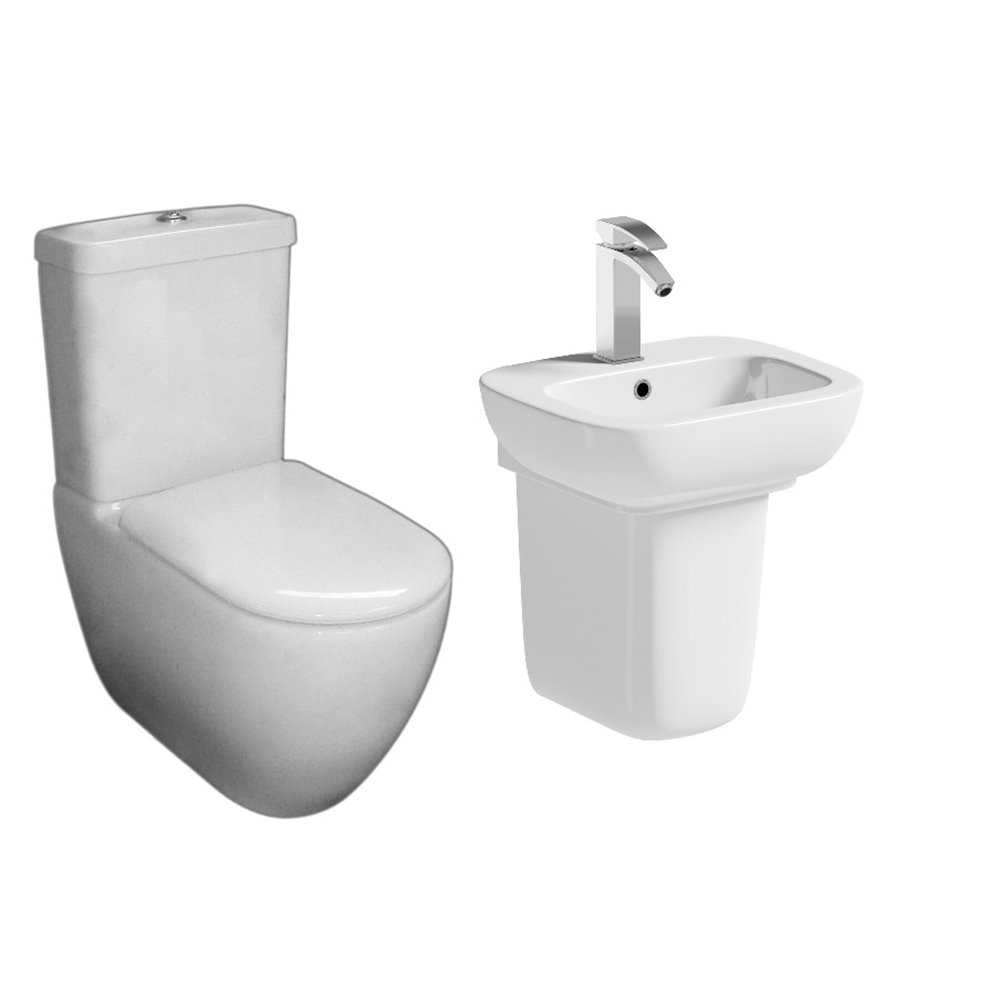 Oakworth traditional toilet pack bretton park for Washroom set