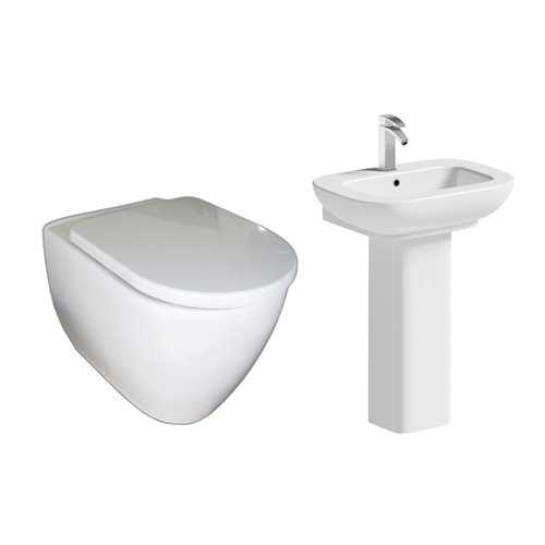 Bretton Park Oakworth Back to Wall Toilet Pack