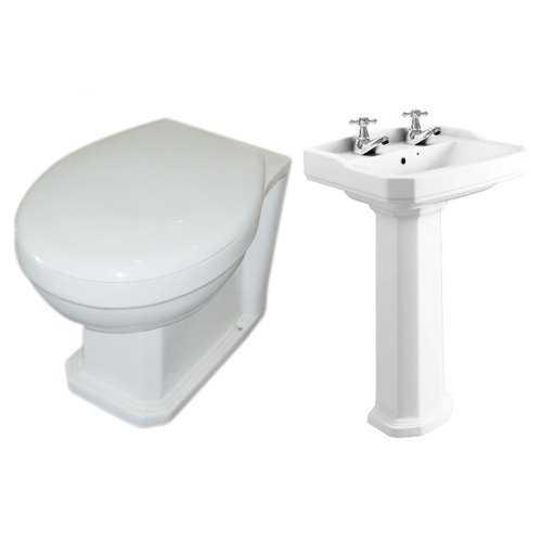 Bretton Park Middleton Back to Wall Toilet Pack