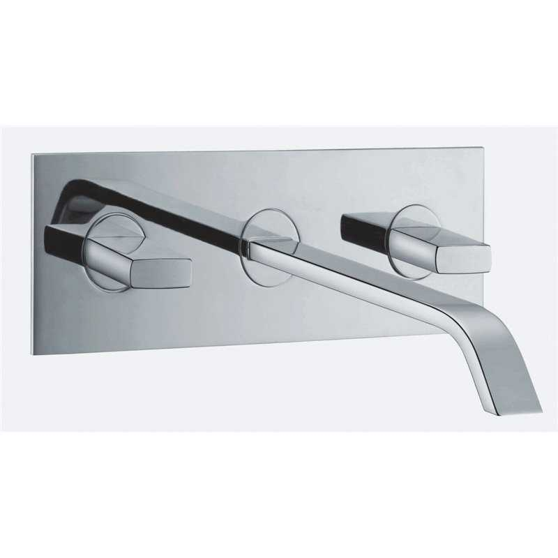 Bretton Park - Flusso Wall Mounted Basin Mixer