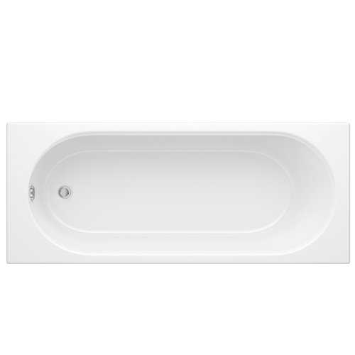 Oxford Rounded Single Ended Acrylic Bath (No Tap Holes) - Bretton Park
