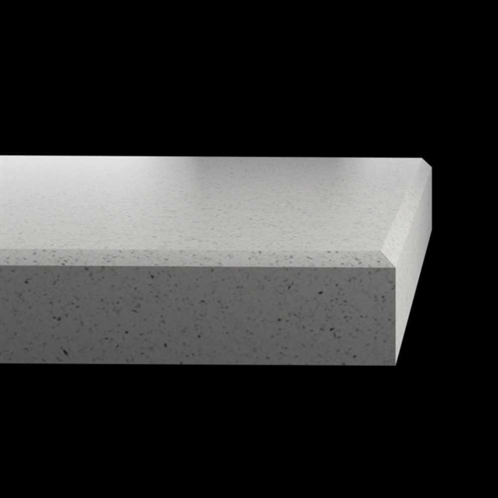 Silestone Quartz Blanco Stellar Solid Surface Kitchen Worktops