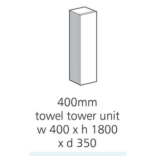 400mm Towel Tower Midi Housing - Bretton Park
