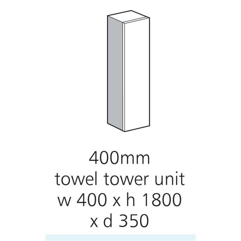 Bretton Park 400mm Towel Tower Midi Housing