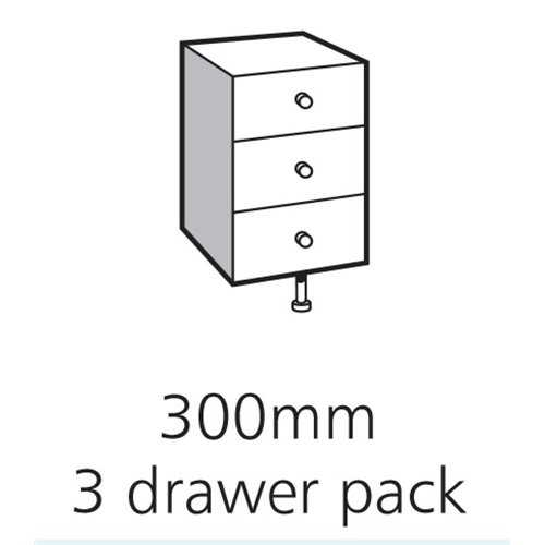 3 Drawer Packs - Bretton Park