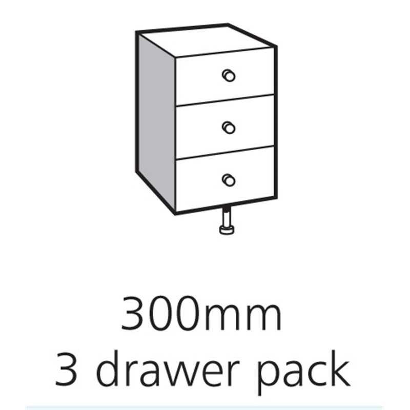 Bretton Park 3 Drawer Pack