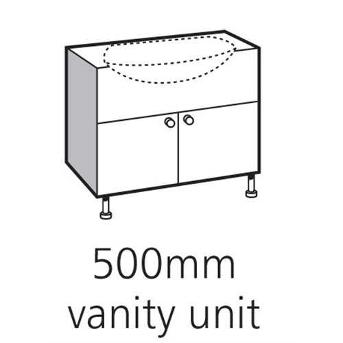 Cloakroom Vanity Units - Bretton Park