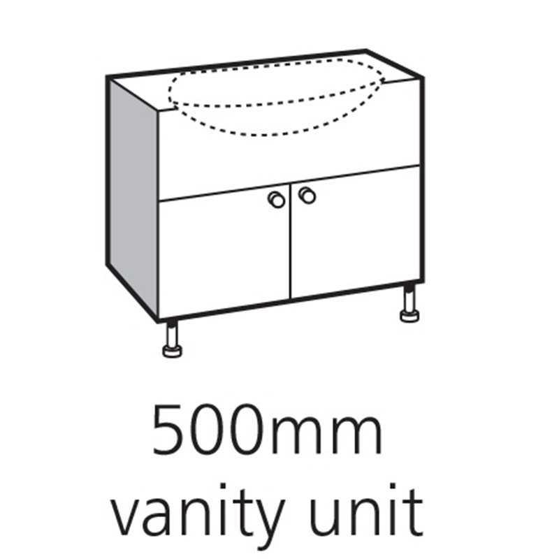 Bretton Park Cloakroom Vanity Unit
